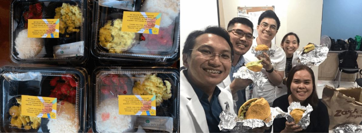 Filipino restaurants free breakfast