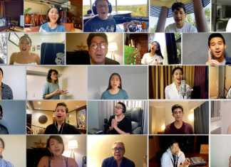 OPM Stars singing We Heal As One