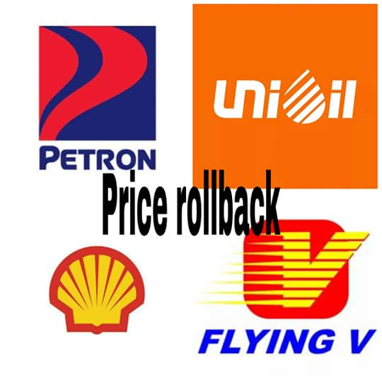 major fuel price reduction