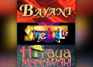 Bayani Sine'skwela Hiraua ABS-CBN weekends
