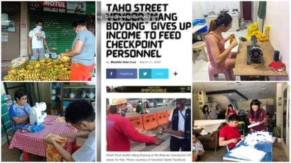 COVID-19 inspiring filipino