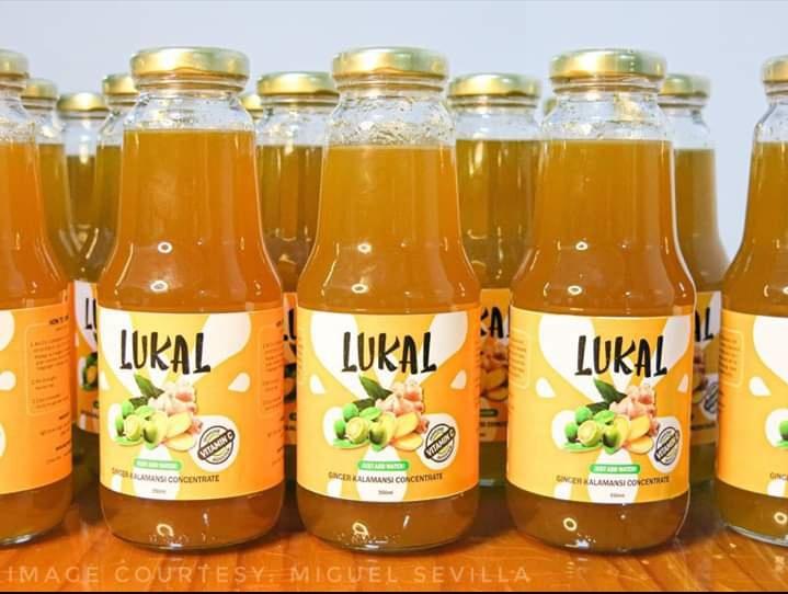 UP Diliman ginger-calamansi drink