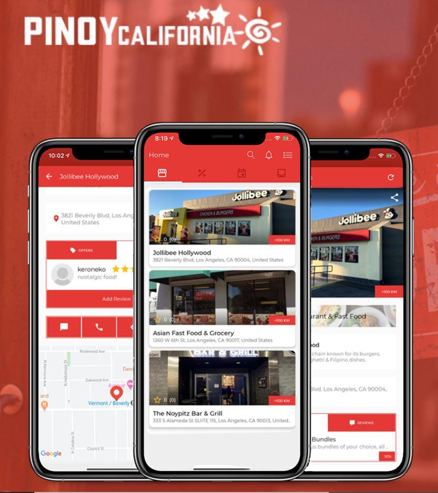 Pinoy California Mobile Application