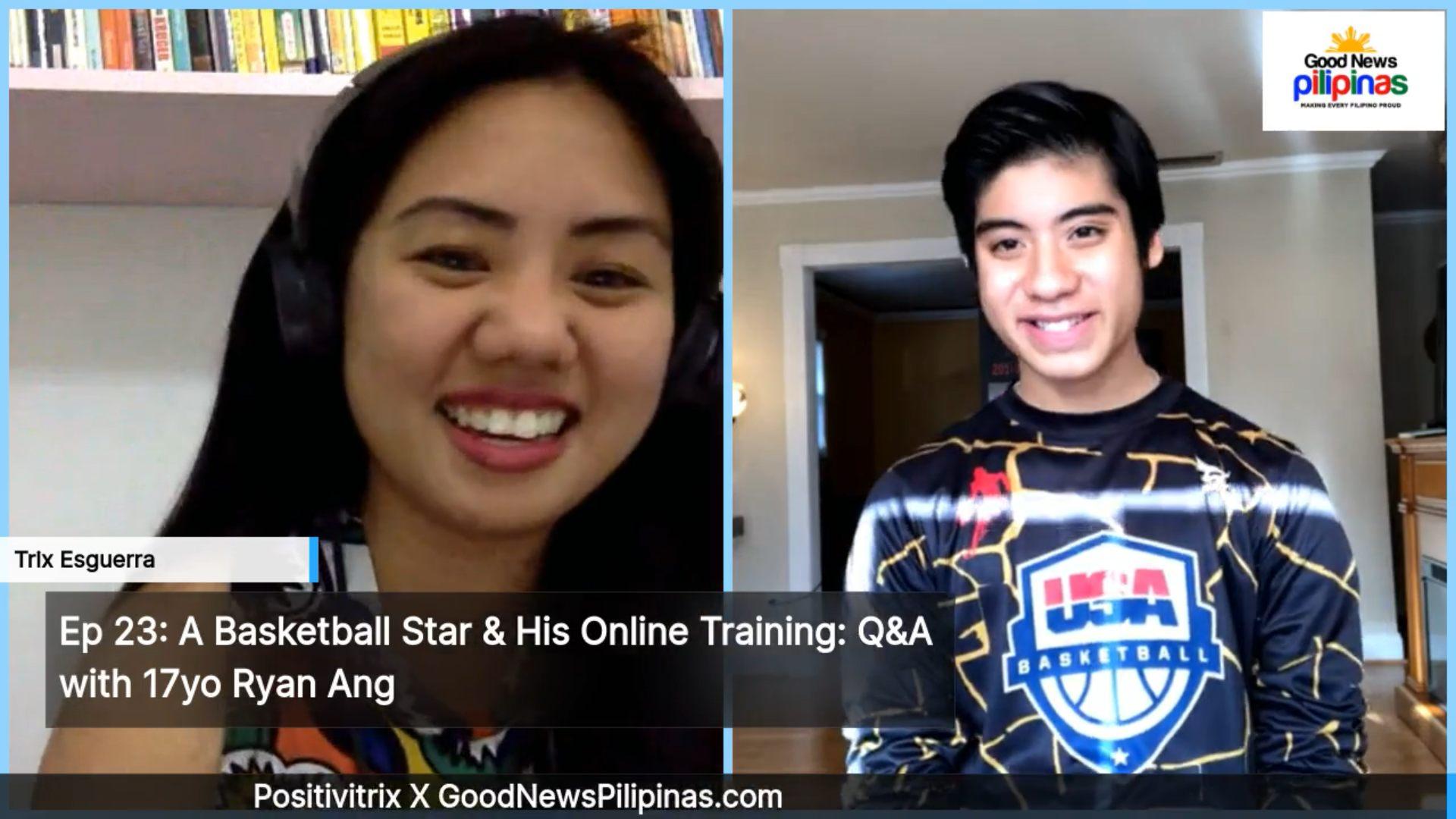 Ryan Ang online Basketball lesson
