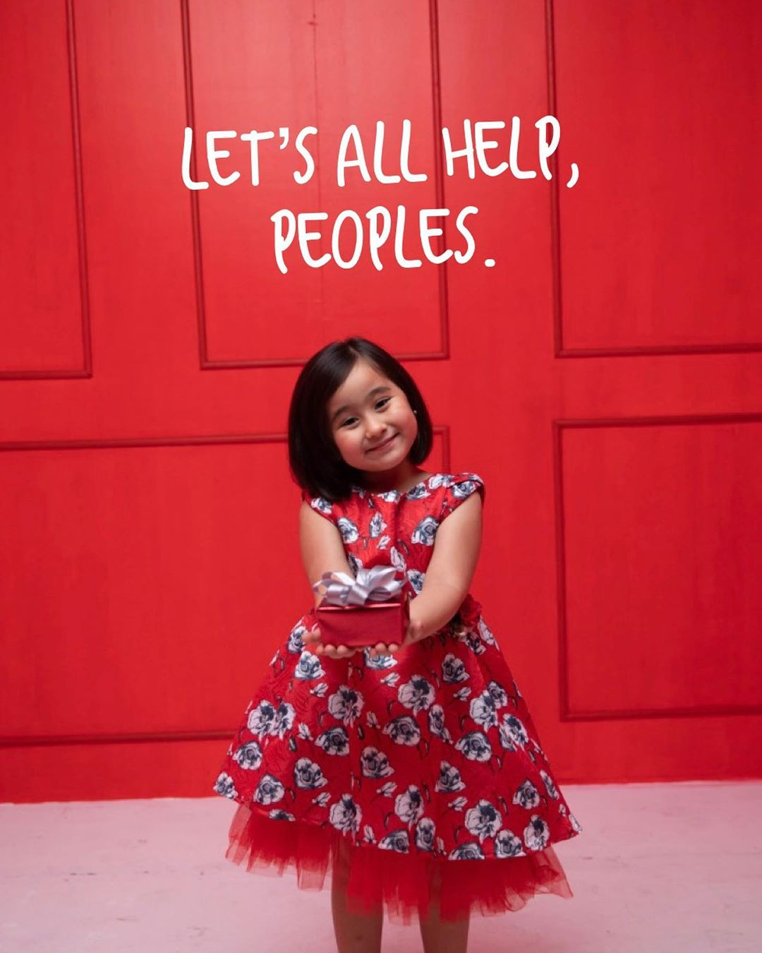 Scarlet Snow Belo raises funds