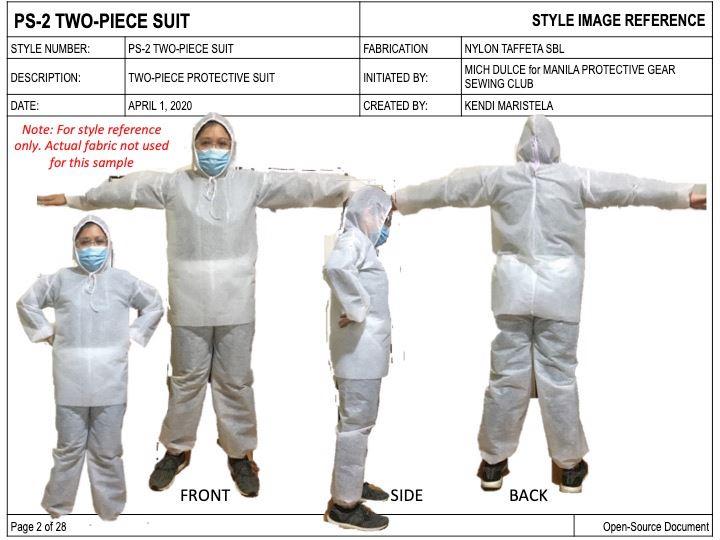 Mich Dulce PPE suits design