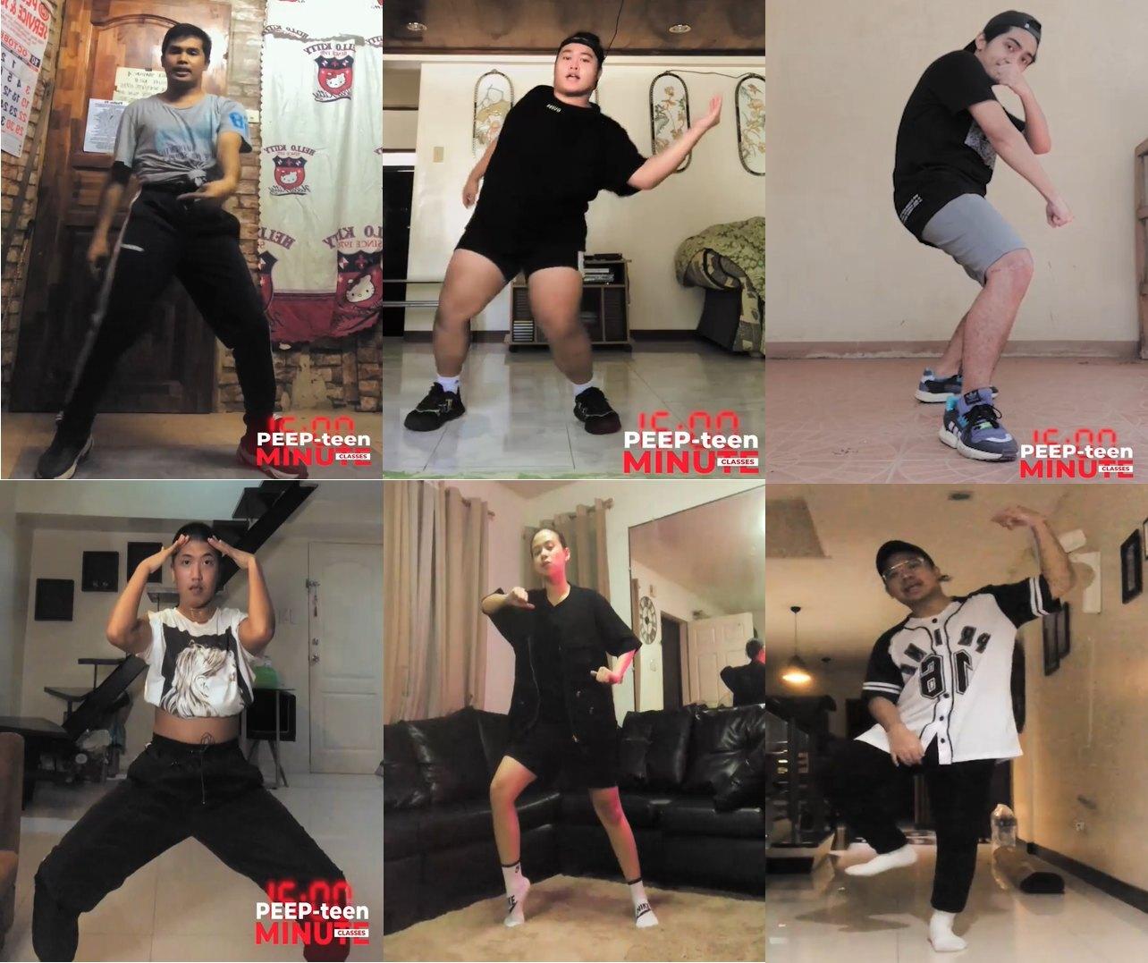 UPeepz FB online dance classes
