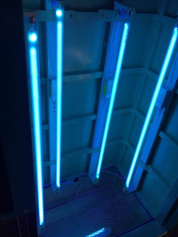 PPEs UV Cleaning chamber