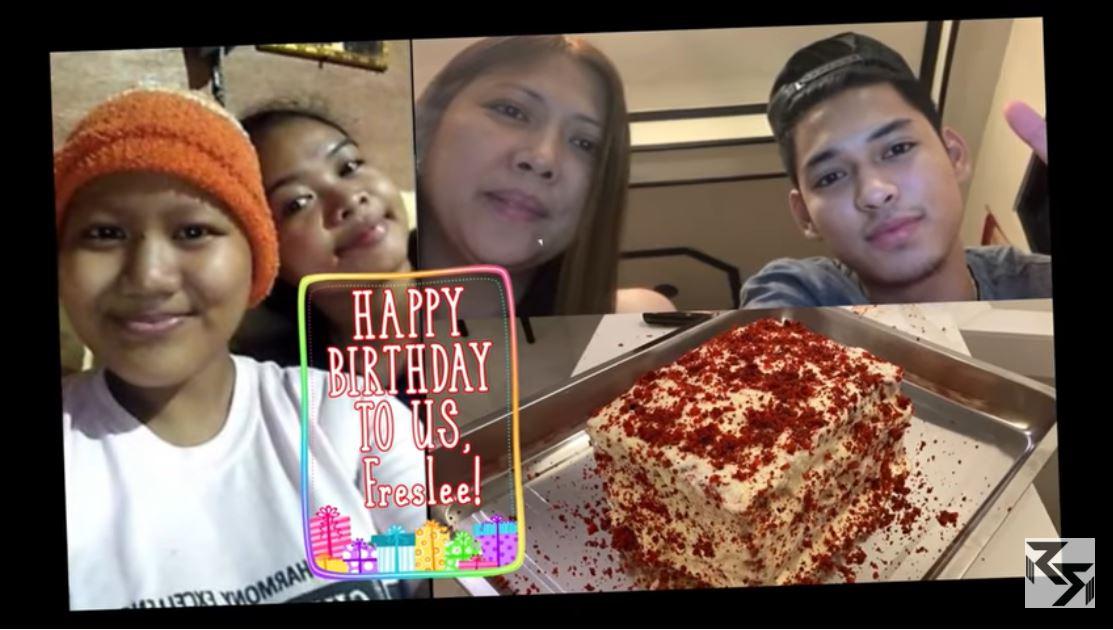 Ricci Rivero Quarantine Birthday treat