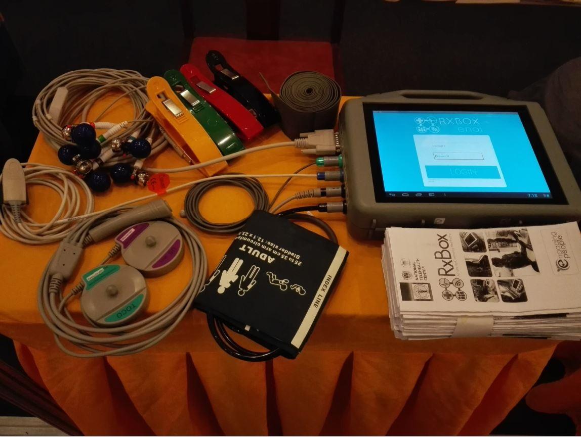 RxBox vital COVID-19 monitor