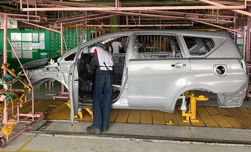 Toyota Philippines car plant production