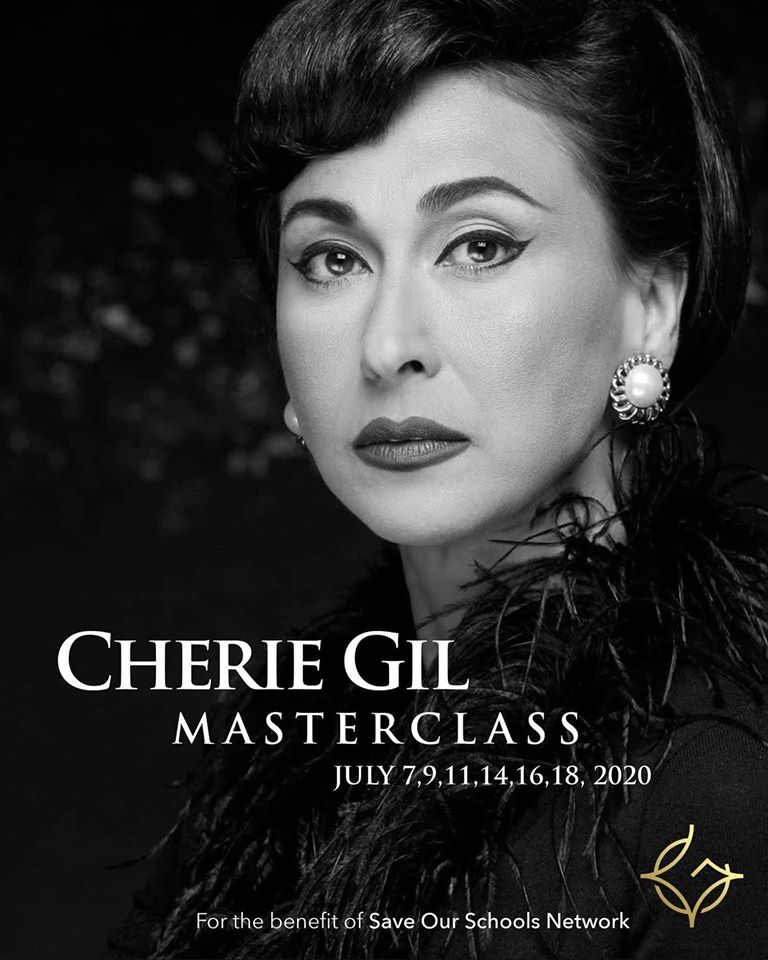 Cherie Gil online acting masterclass