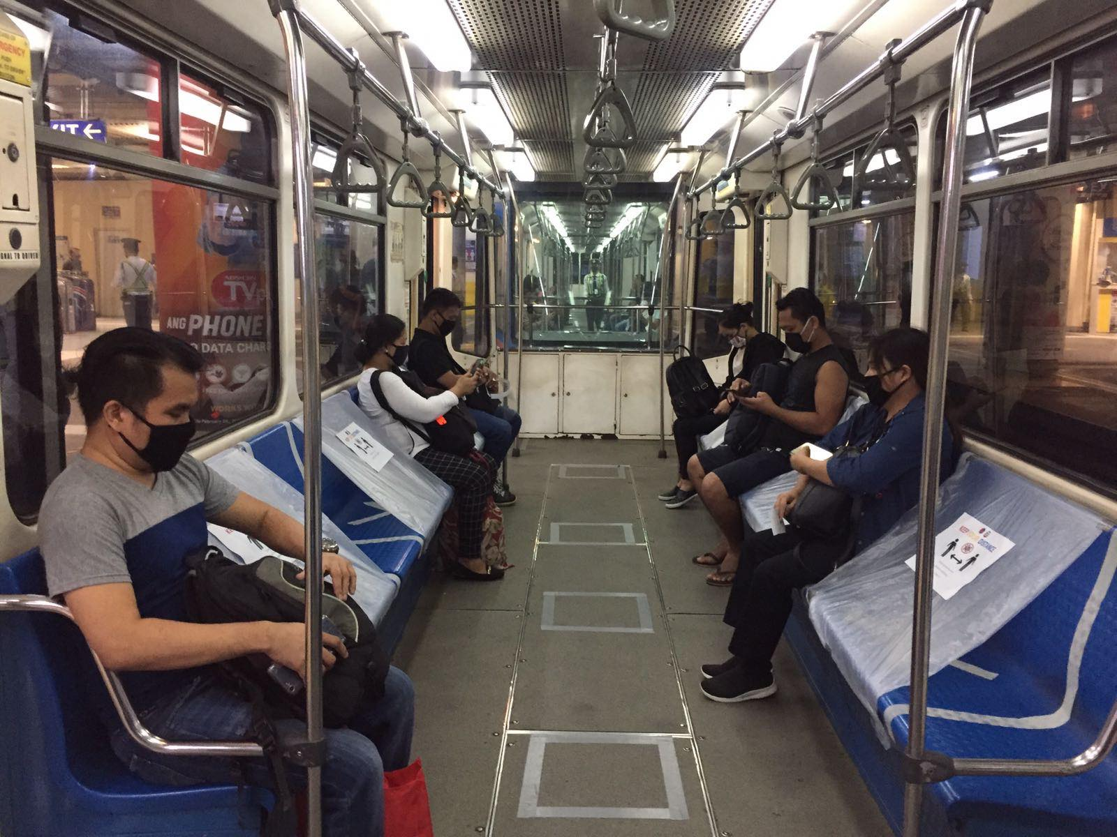 GCQ Public transportation