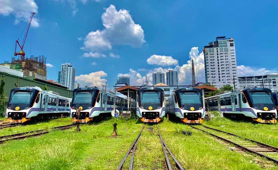Metro Manila new railway trains