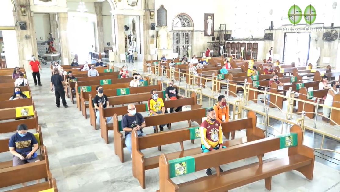 Catholic Churches welcoming younger volunteers