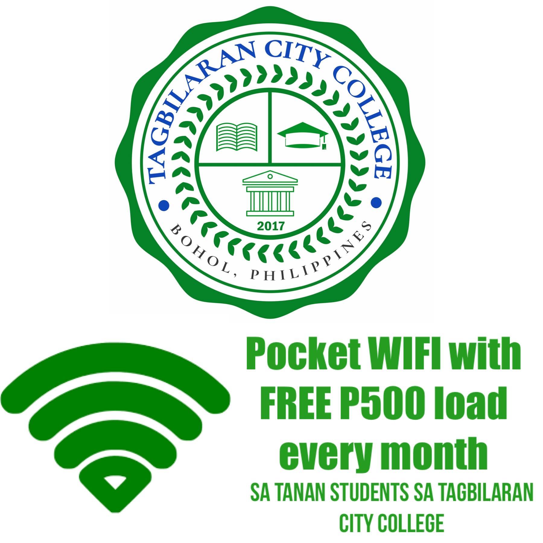 Tagbilaran City free pocket wifi
