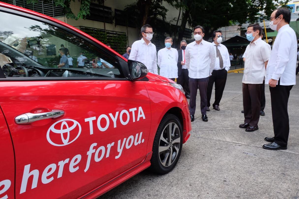 Toyota Philippines donates 30 Vios