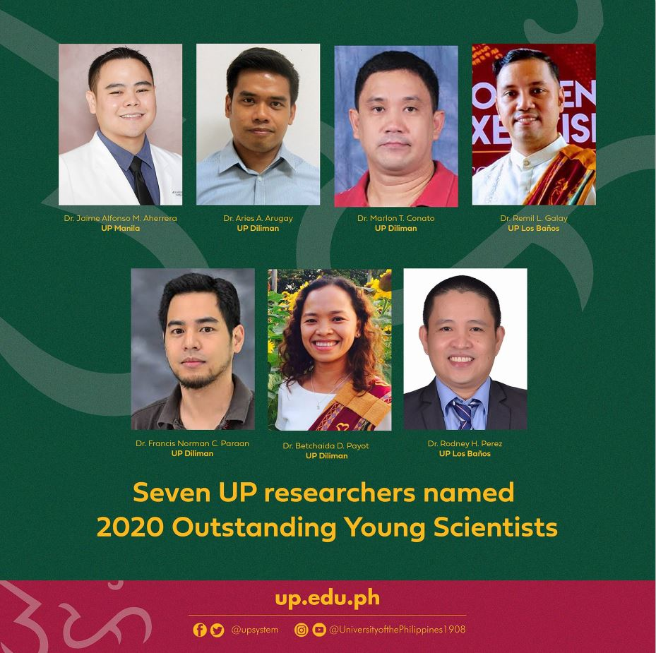 UP Young Scientists National Awards