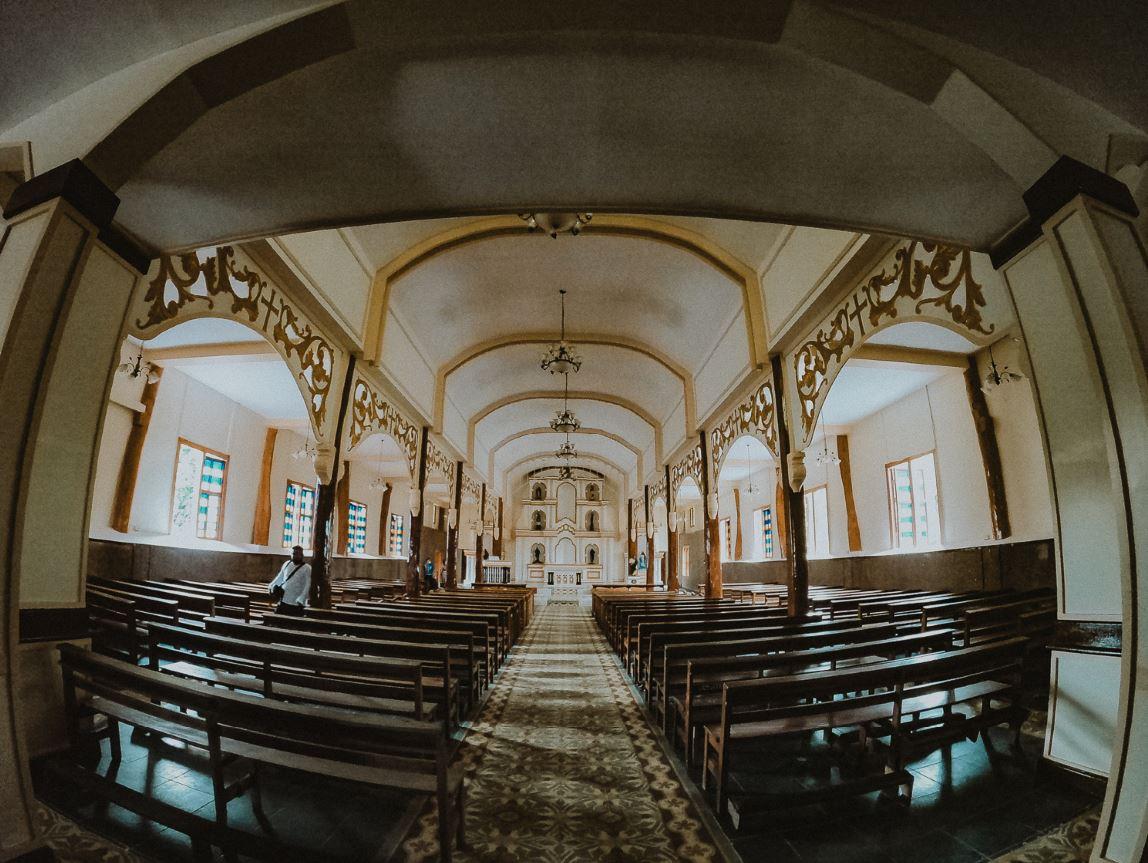 San Salvador del Mundo Parish reopened