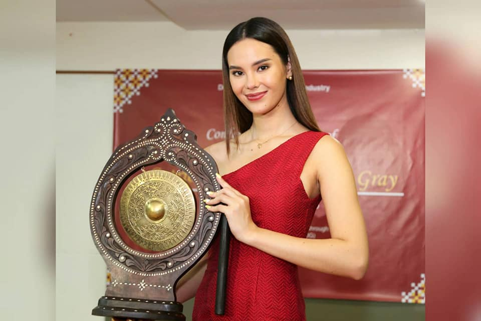 Catriona Gray Philippine-made products ambassador