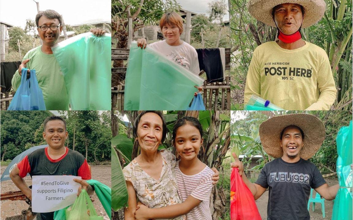 Bayanihan Project feeding farmers