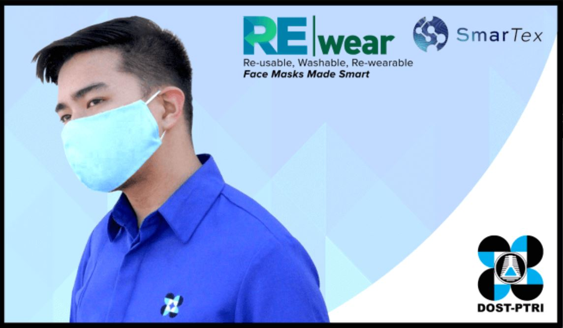 DOST REwear face mask