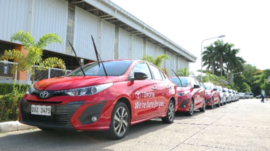 Toyota adds more Vios to Health Frontliners