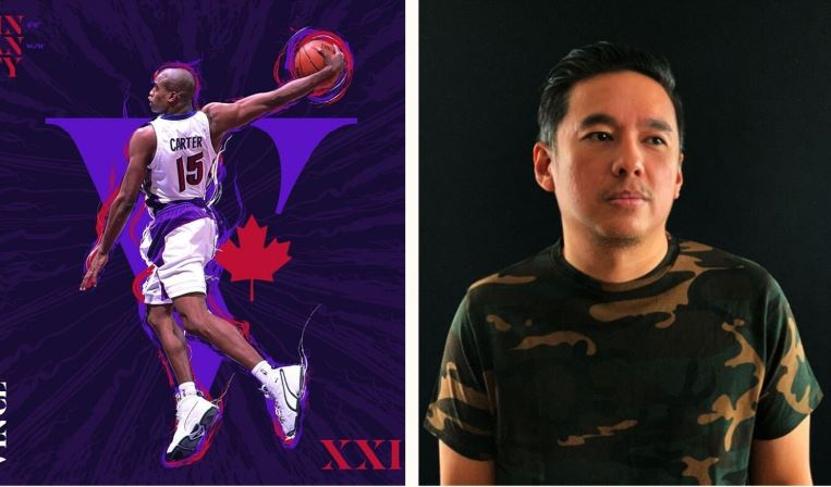 AJ Dimarucot NBA's Vince Carter tribute