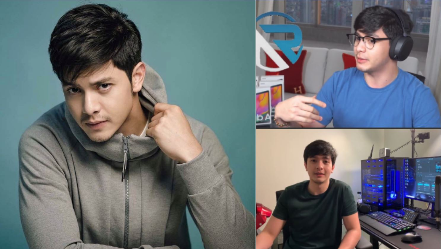 Alden Richards gifts and gadgets to Filipino students