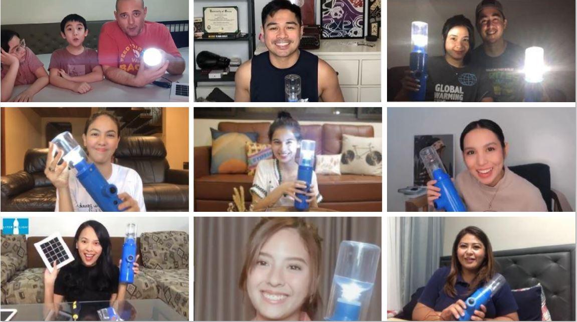 Celebrity solar advocates join Light it Forward Challenge