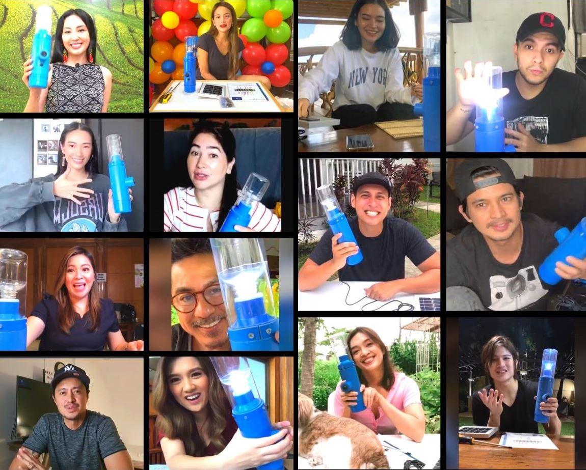 Filipino celebrities Light it Forward