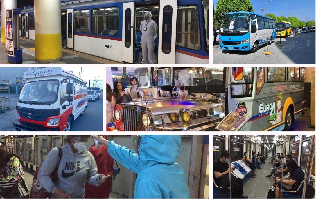 Public transportations in manila resumes