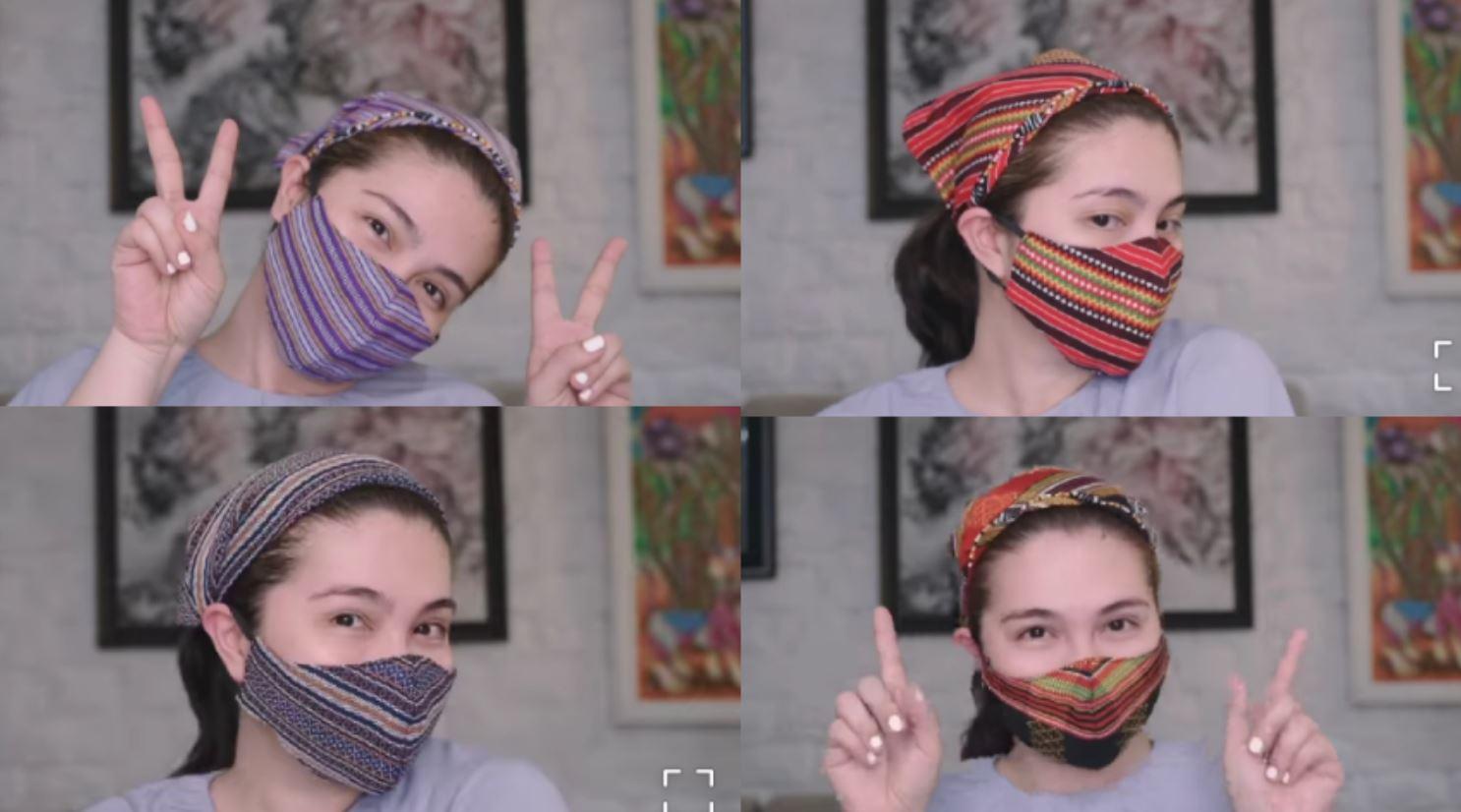 Dimples Romana face masks
