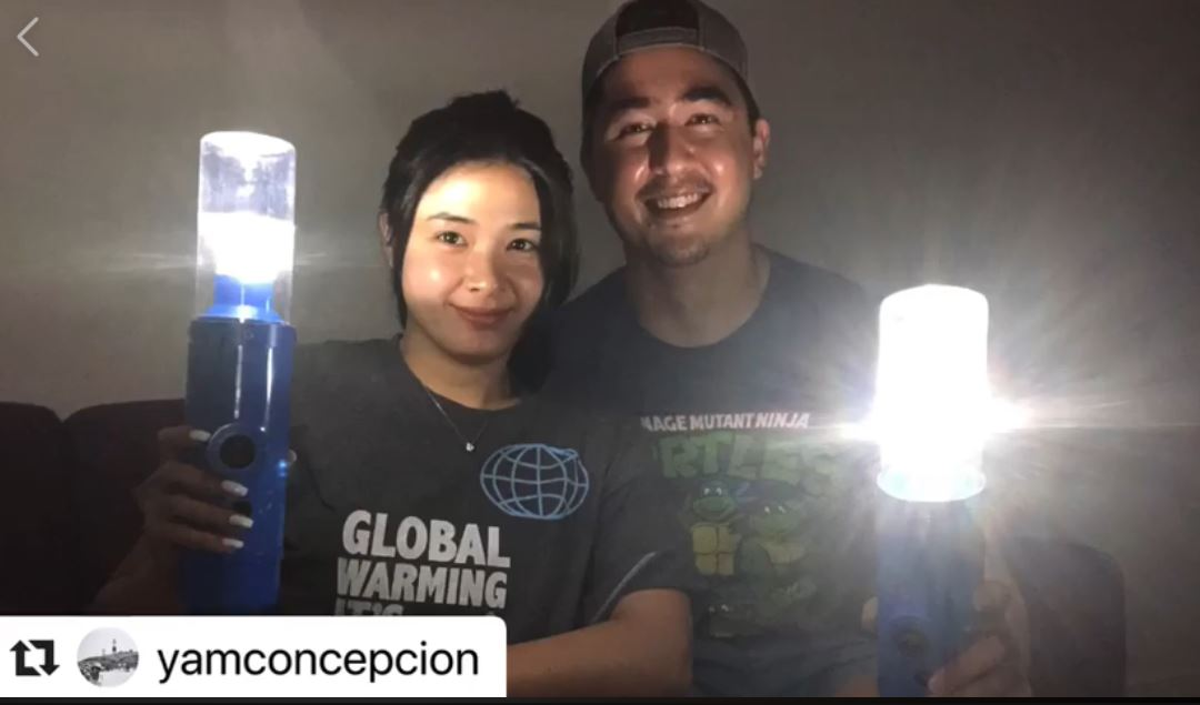 Yam Concepcion and Miguel Light it Forward Challenge