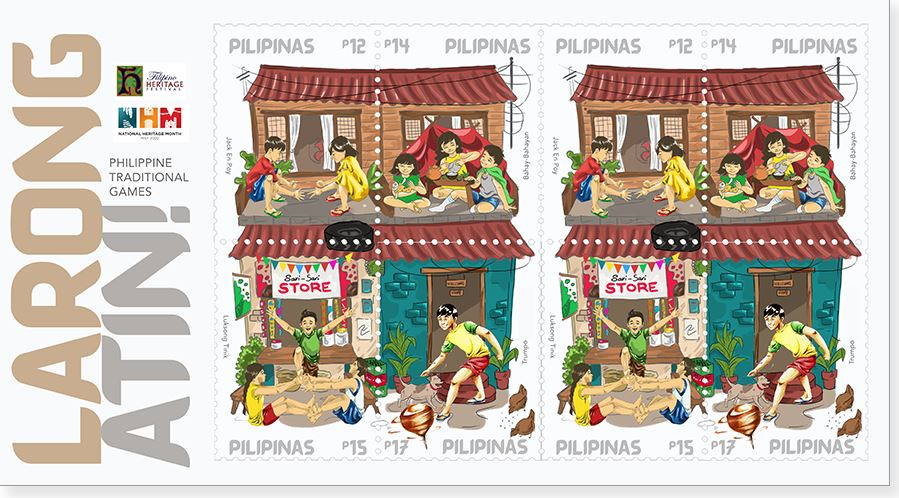 Luksong Tinik PHLPost special stamps