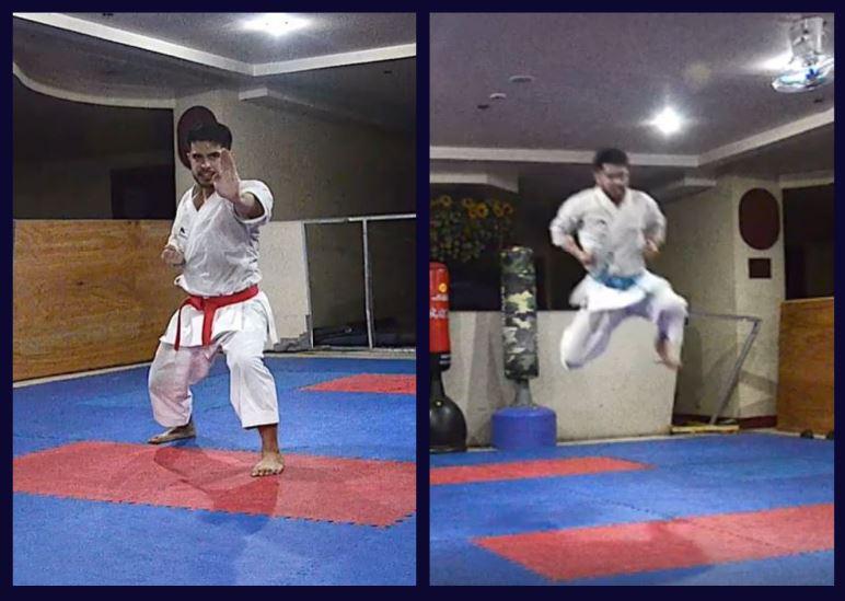 James De Los Santos karate superstar
