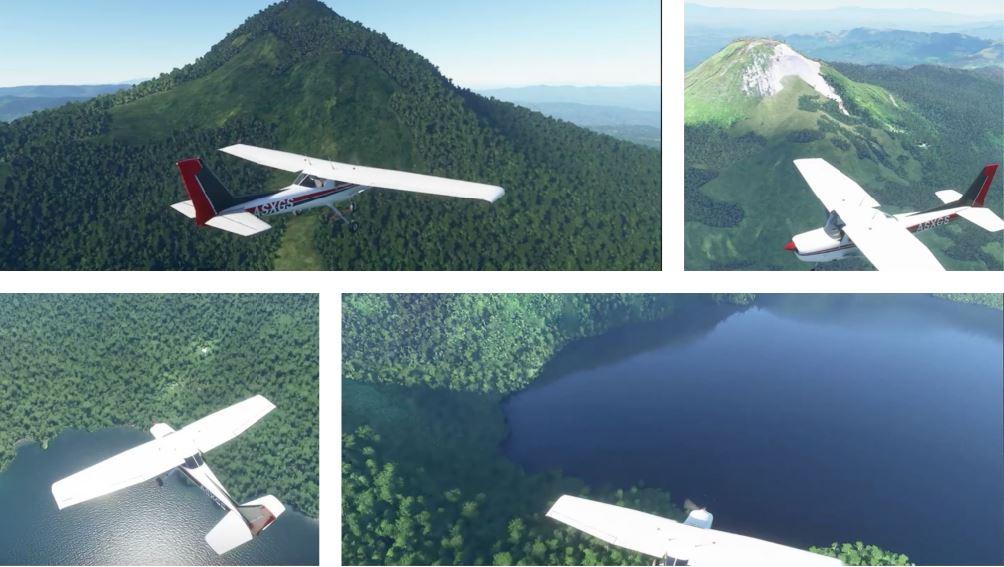 Microsoft's Flight Simulator Philippines landmarks