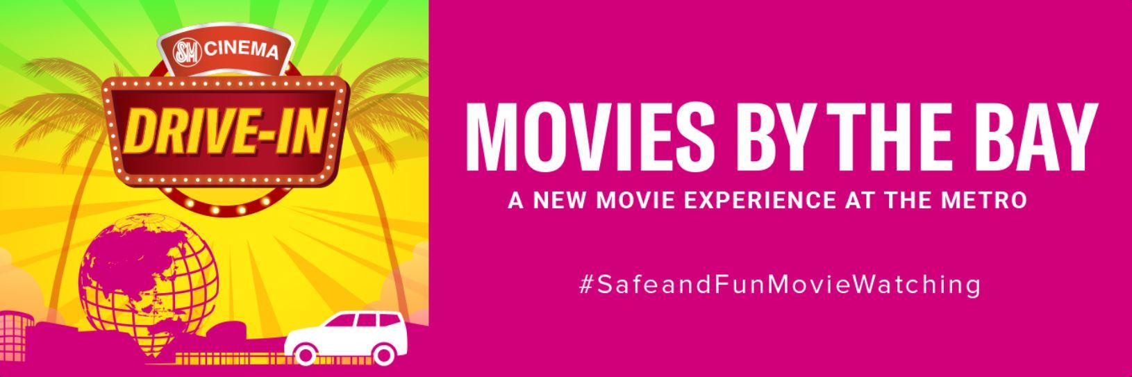 Drive-in cinema SM MOA