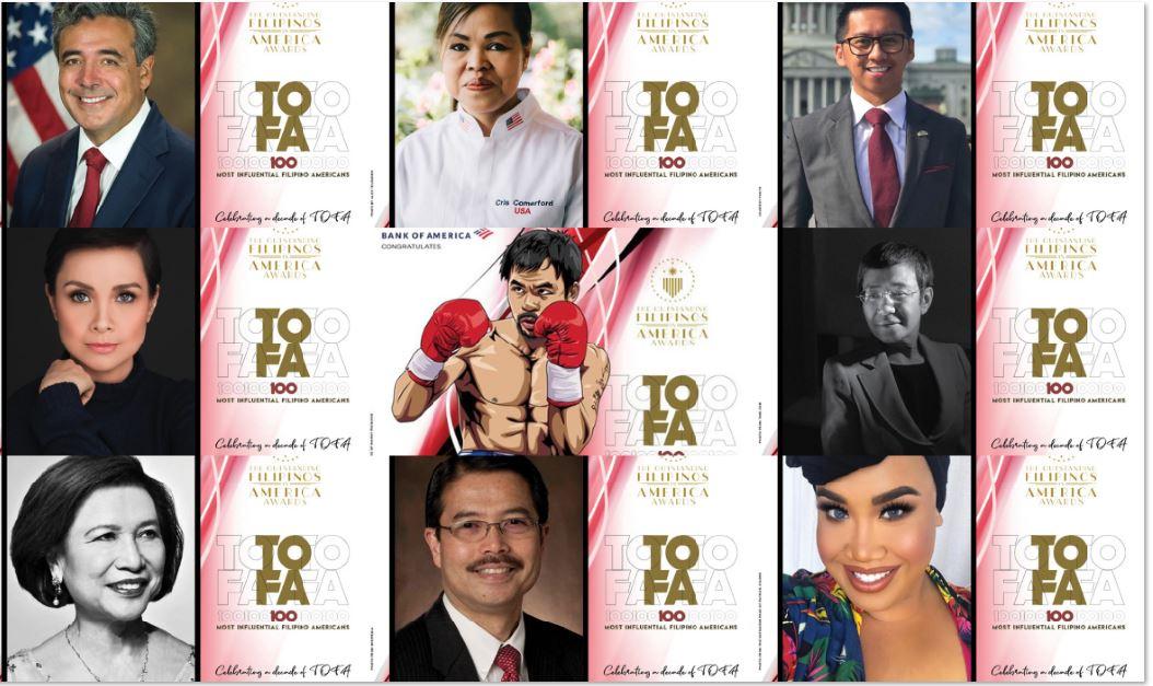 Lea Salonga Manny Pacquiao Outstanding Filipinos in America