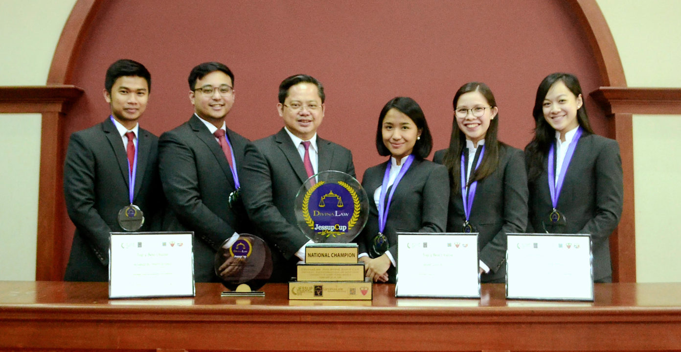 UP College of Law After Jessup International Moot Court