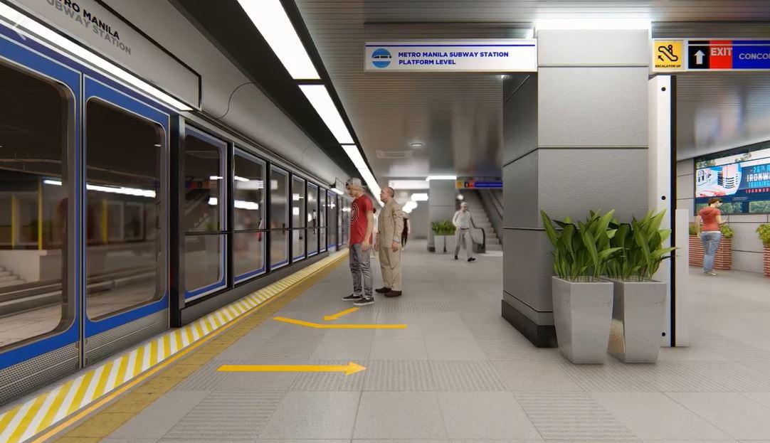 Philippines subway virtual tour