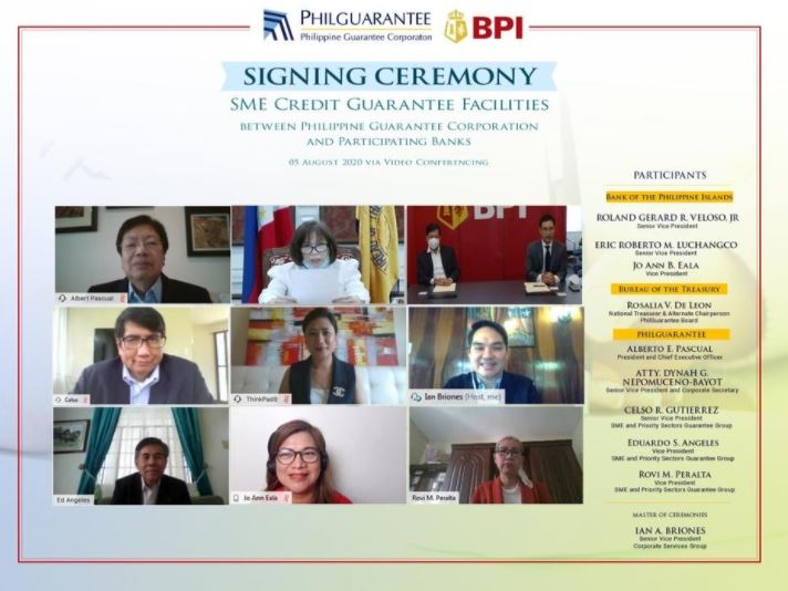 BPI-PHILGUARANTEE business financing