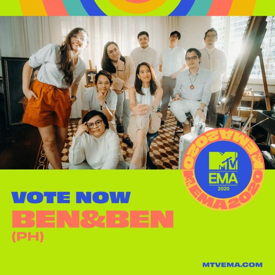 Ben & Ben MTV Europe