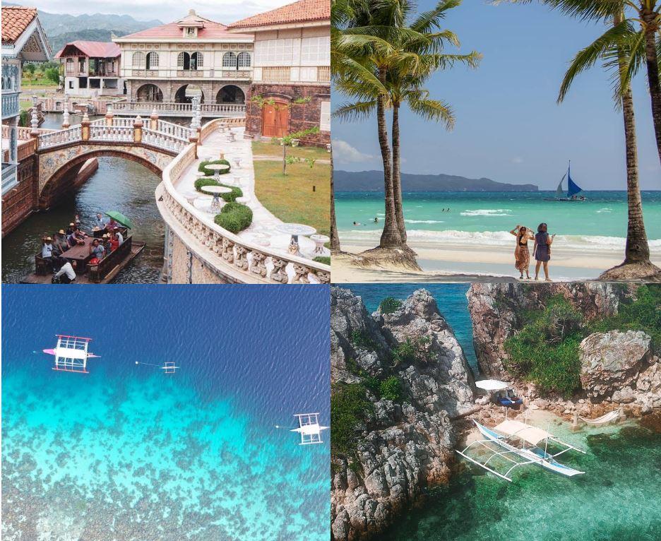 Philippines Open tourist spots