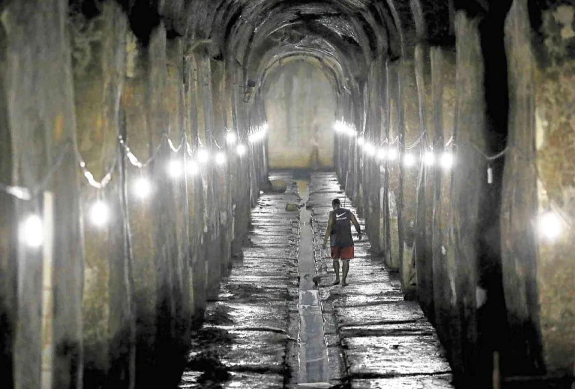 "Manila Underground Reservoir ""El Deposito"""
