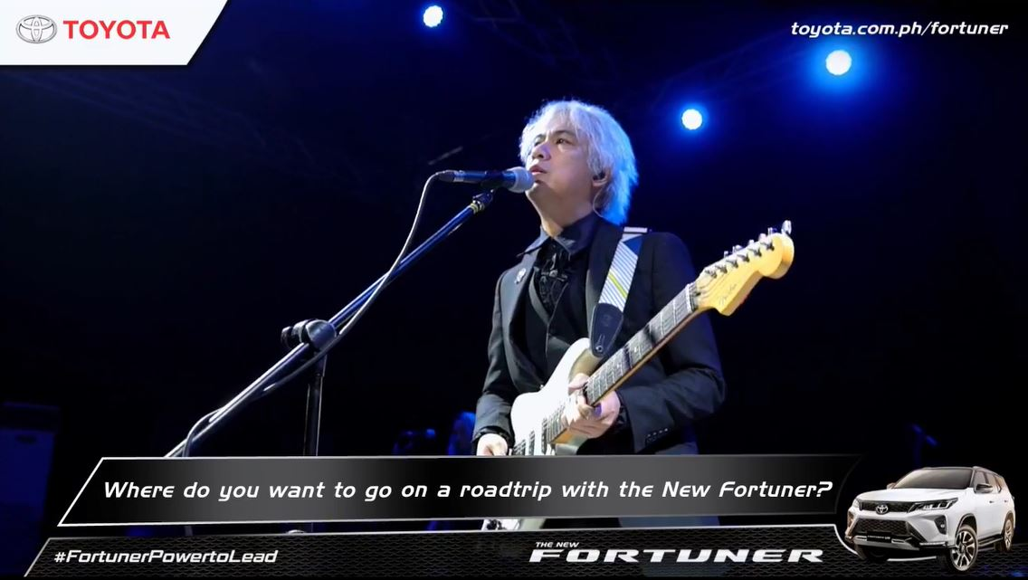 Ely Buendia's first online concert Toyota