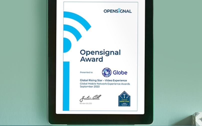 Globe Global Rising Star by Opensignal
