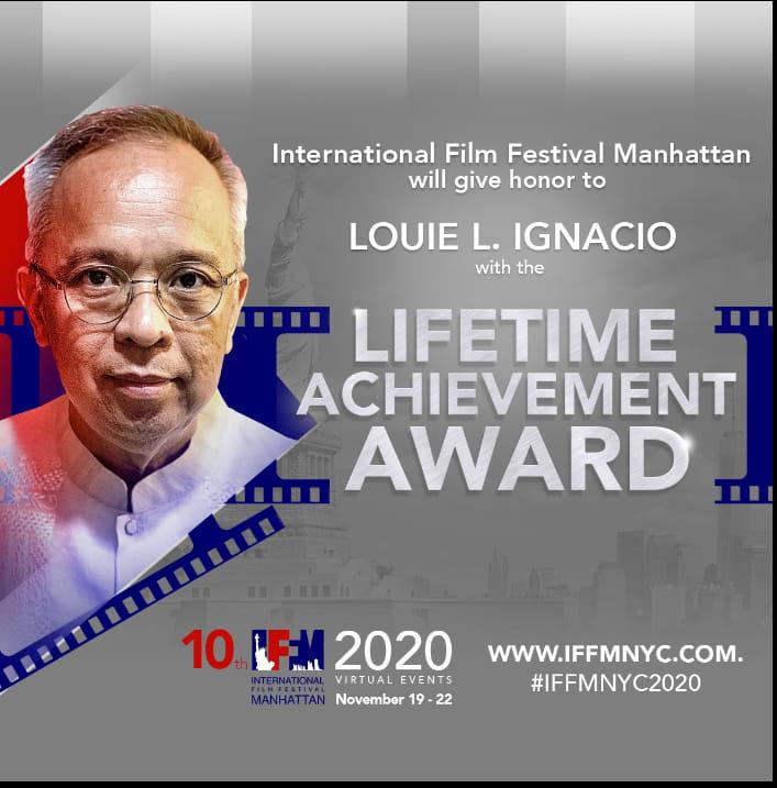 Louie Ignacio Lifetime Achievement Award