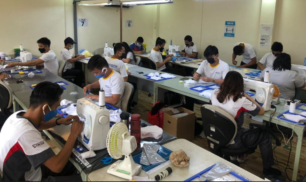 Toyota Philippines donated face masks