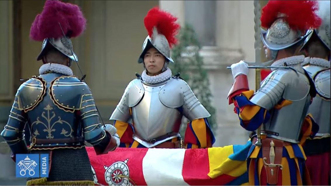 Vincent Lüthi Filipino-Swiss guard